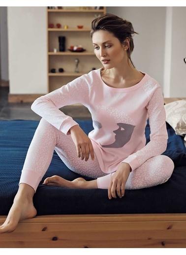 Şahinler Pijama Takım Pembe